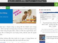 Tạo trang Demo và Download với thanh công cụ cho Blogger