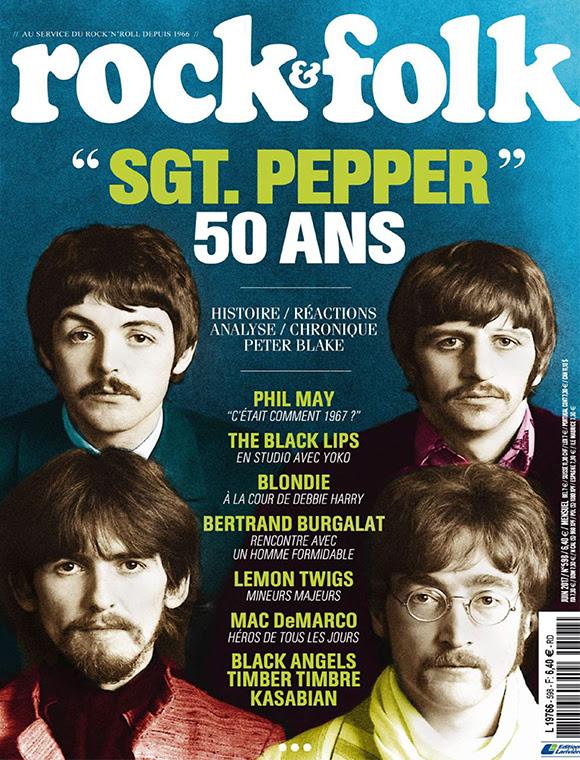 Les 50 ans de « Sgt. Pepper » dans le magazine « Rock & Folk »