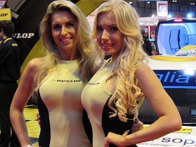Dunlop Tyres and Models from Autosport International 2013