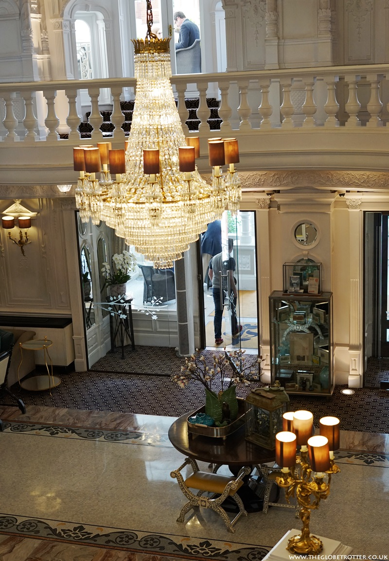 The Lobby of St Ermin's Hotel in London