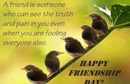 Happy Friendship day quotes share on face book and Instagram posts