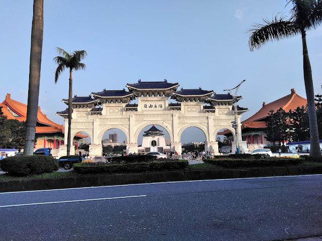 chiang kai shek memorial taipei taiwan