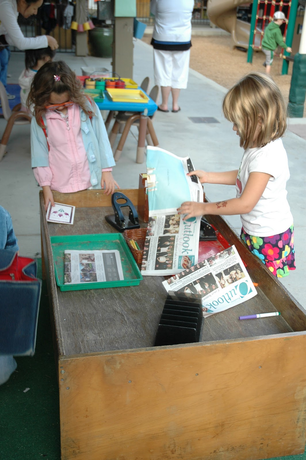 Exploring The Outdoor Classroom Dramatic Play Ideas