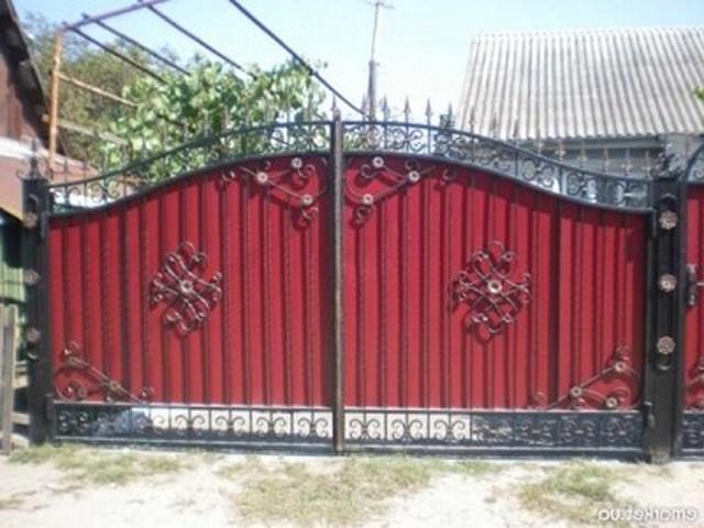 Кованые ворота и калитки фото эскизы