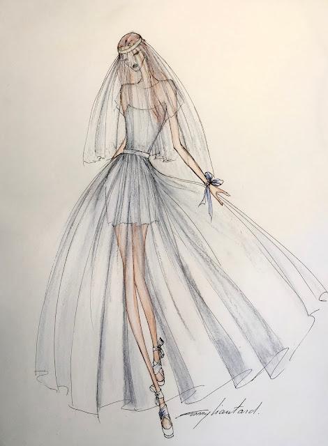 Fanny Liautard robe de Mariée, robe de soirée, créateur couture sur mesure Paris