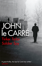 Tinker, Tailor, Soldier, Spy by John le Carré book cover