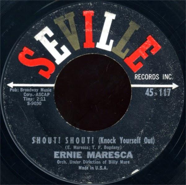 Ernie Maresca Shout Shout Knock Yourself Out