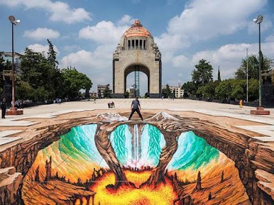 11 Most Amazing 3D Street Art Illusions.