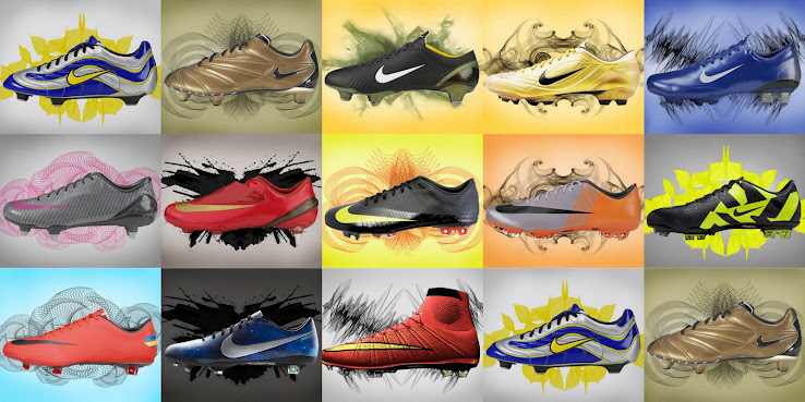 We take a look at the most innovative Nike Mercurial generations in  history f4f8ebee9