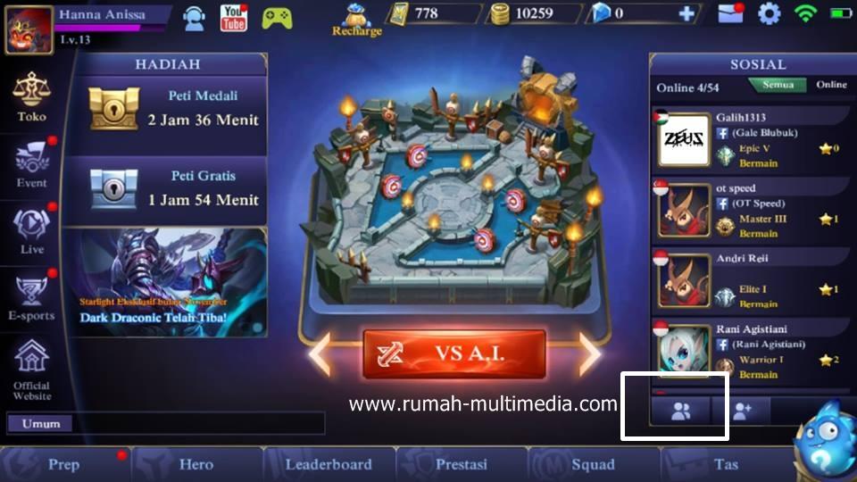 Cara Menghapus Pertemanan di Mobile Legends - Rumah Multimedia