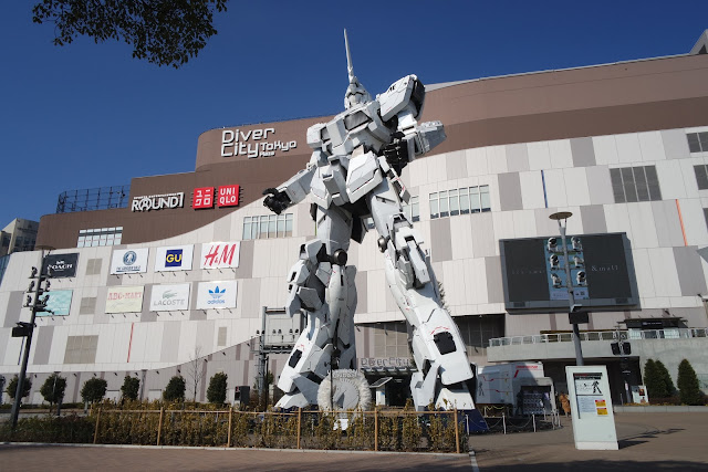 Unicorn Gundam Giant Japan