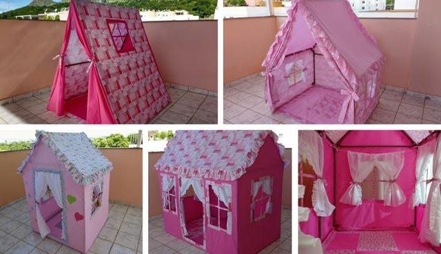 Casinha de boneca para brincar