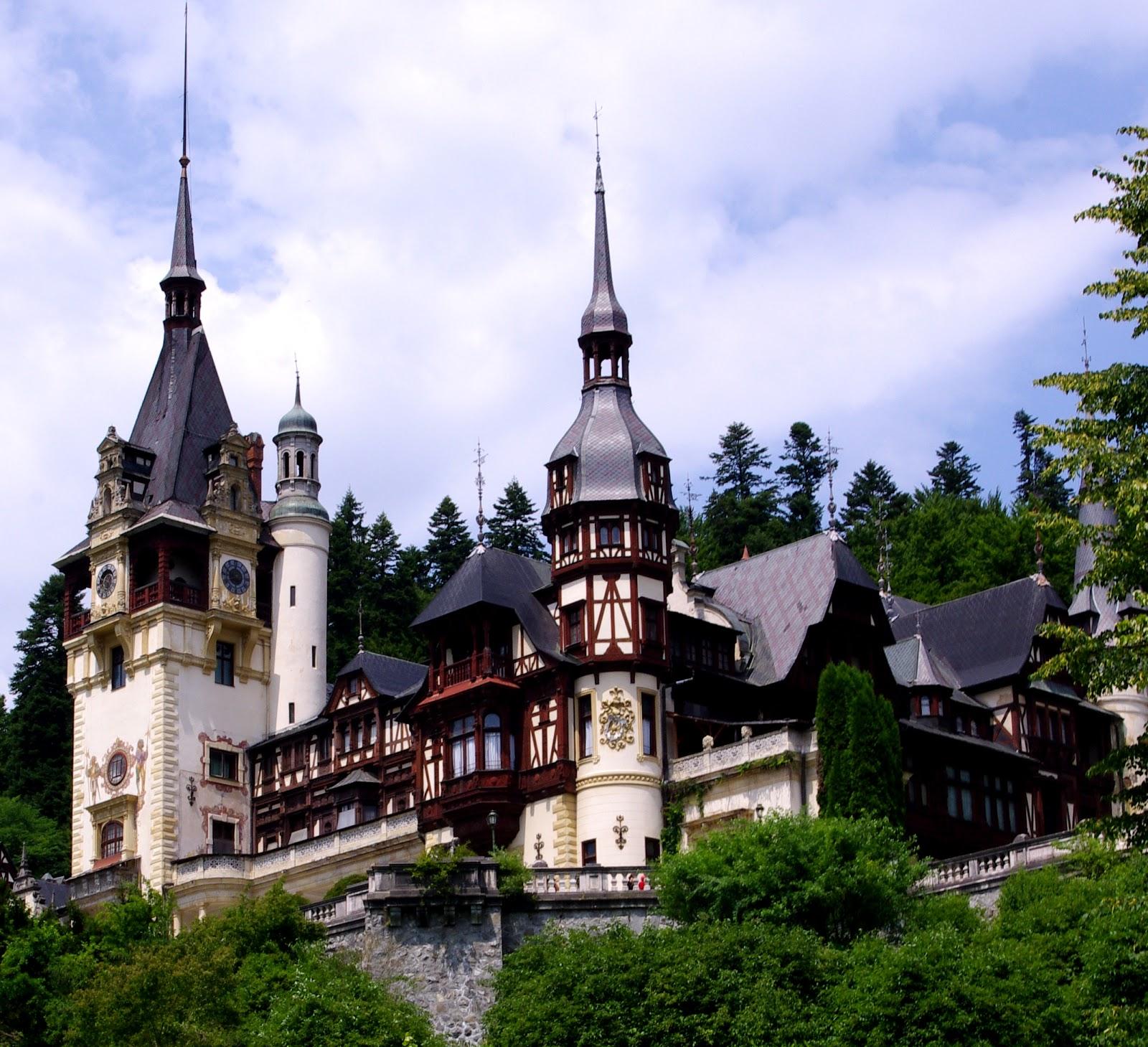 Las Fotos De Mis Viajes Castillo De Peles Sinaia Rumania