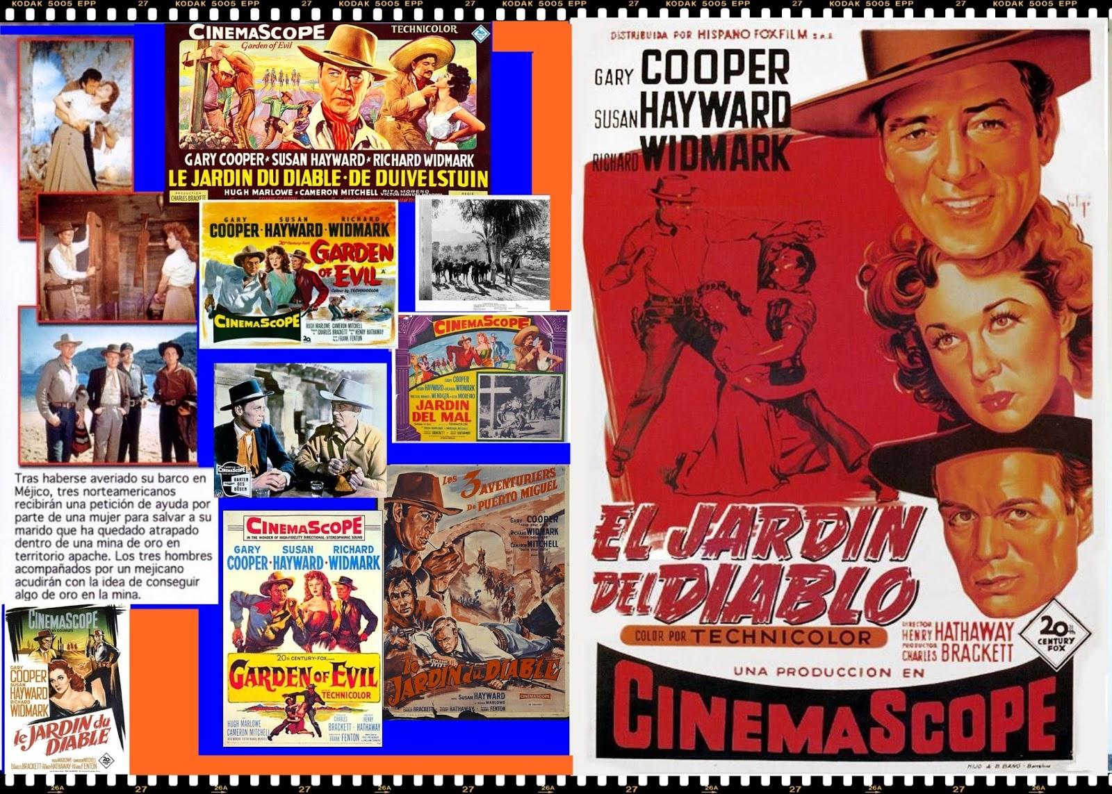 El mundo del cartel el jard n del diablo for El jardin del diablo gary cooper