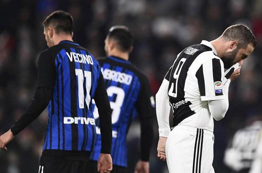 Cầm hòa Juventus, Inter bảo toàn ngôi đầu Serie A 1