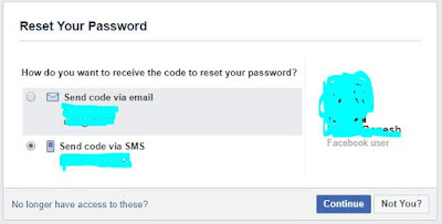 Facebook Password Recovery process - How Do You Recover Lost Facebook Password?
