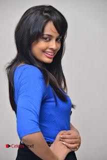 Actress Nandita Swetha Stills in Black Mini Skirt at Ekkadiki Potavu Chinnavada Movie Special Show  0031.JPG