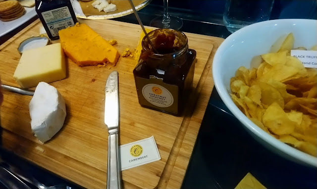 Marks & Spencer Festive Food - Cheese & Crackers
