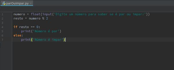 Adicione código no script