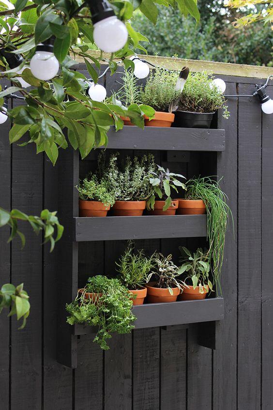 DIY modern herb garden