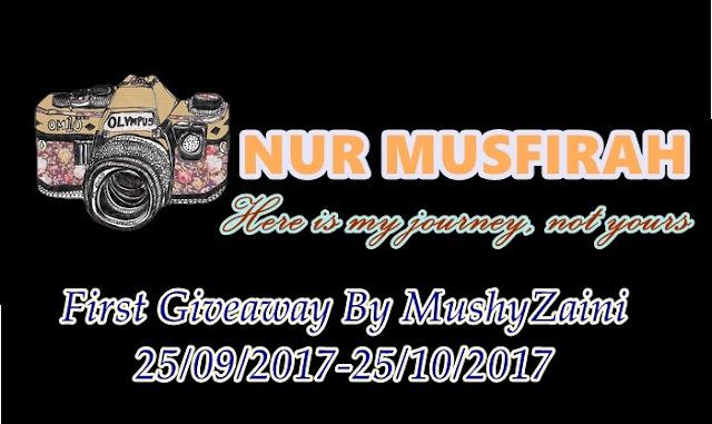http://mushyzaini.blogspot.my/2017/09/first-giveaway-by-mushyzaini.html