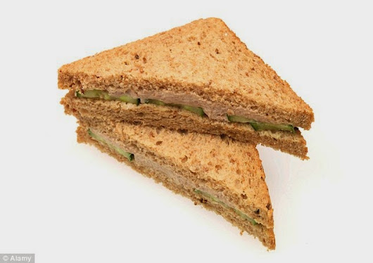 Feeling down? Try a tuna sandwich: Eating the fish found to reduce risk of depression by 25% - but only if you are a woman