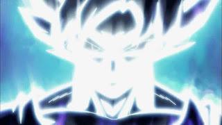 Goku almost Ultra Instinct