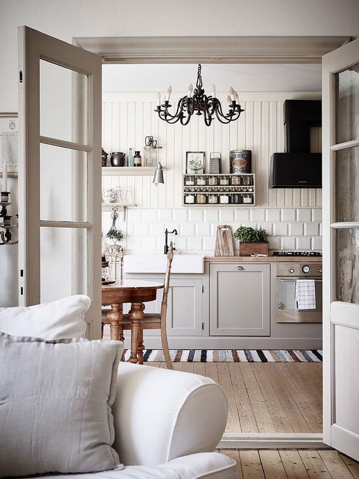 decordemon: Vintage Scandinavian apartment