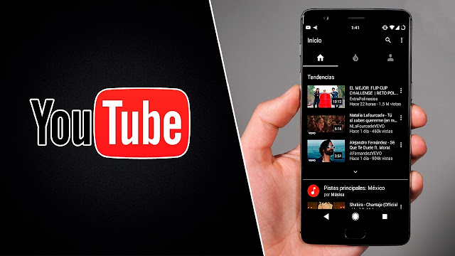 طريقة تمكين المظهر الداكن لتطبيق اليوتيوب YouTube على الاندرويد Android