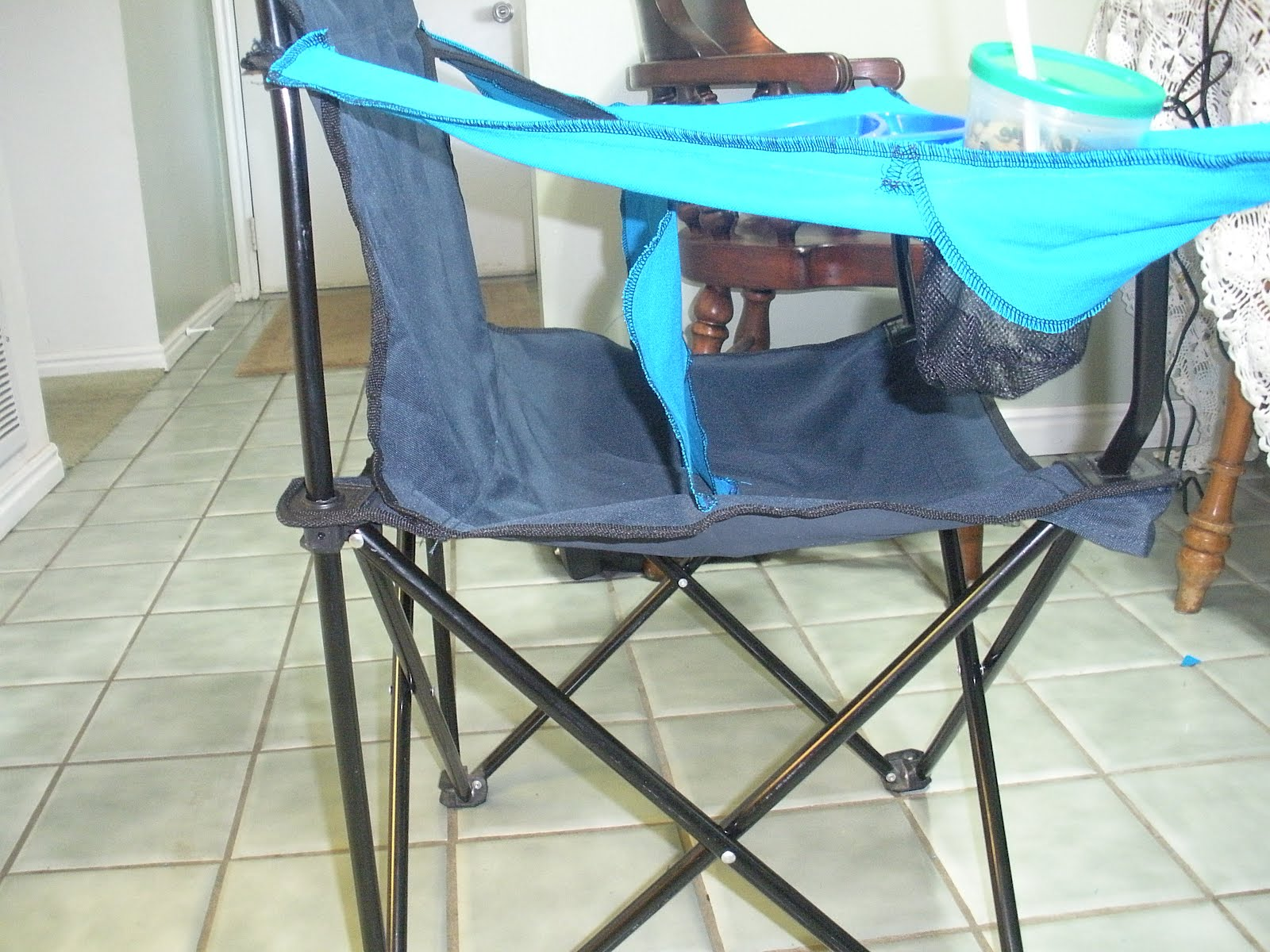 Baby Camping High Chair Adirondack Chairs Blueprints Life With The Anderson Diy