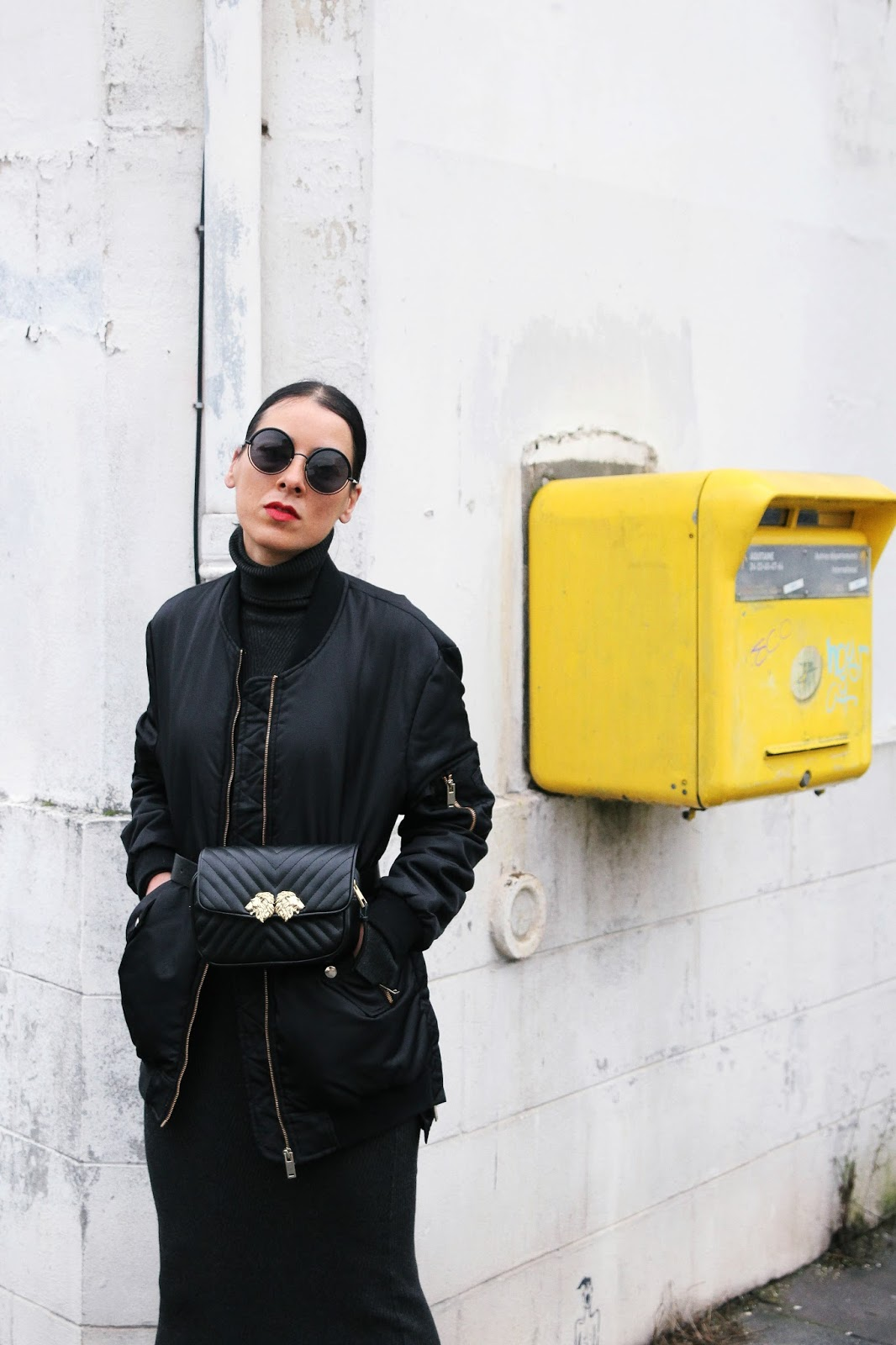 tendance bottines blanche et sac banane hiver 2018