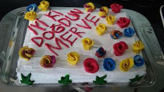 kişiye özel doğum günü pastası