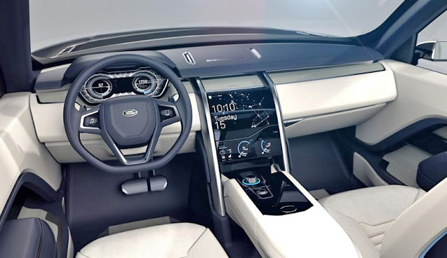 2016 interior latest Land Rover Discovery Sport