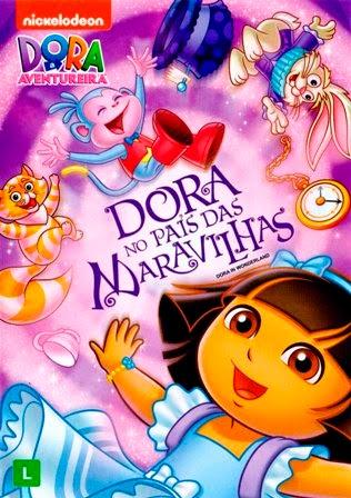 Dora a Aventureira: Dora no Pais das Maravilhas DVDRip AVI + RMVB Dublado