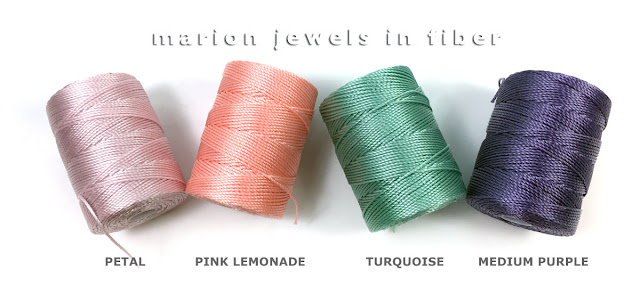 C-Lon Bead Cord Pantone Spring 2018 Top 12 Colors