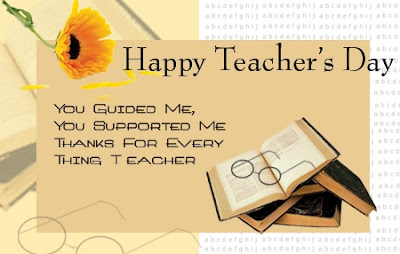 Happy Birthday Wishes For teacher: you guided me, you supported me