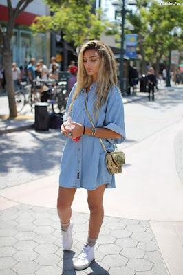 Vestidos y Tenis