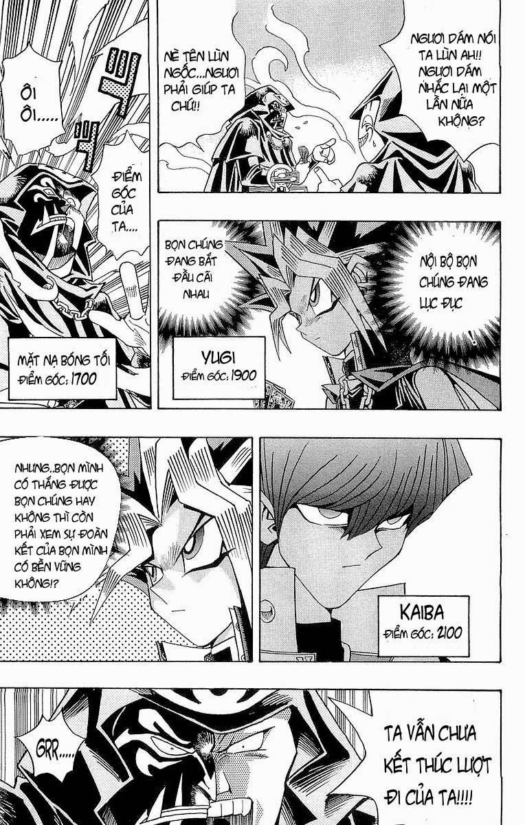 YUGI-OH! chap 188 - sức mạnh kết hợp! trang 4