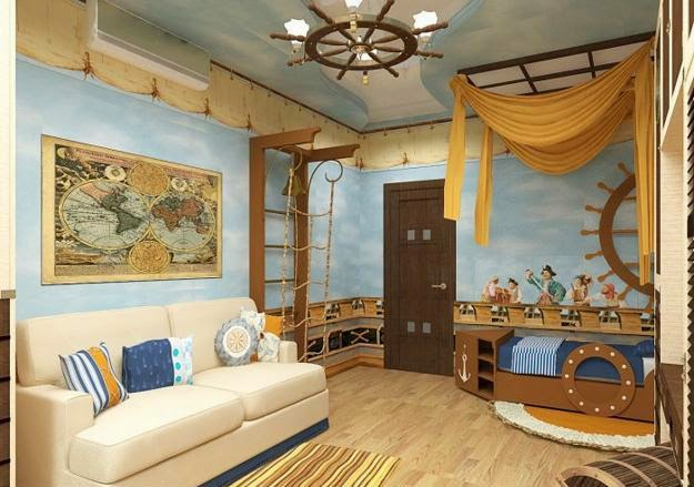 kids-room-decorating-nautical-decor-theme-5 Nautical Theme Bedroom Ideas Ceiling Lighting on disney pirates bedroom ideas, twin beds boys bedroom ideas, little boy bedroom ideas,