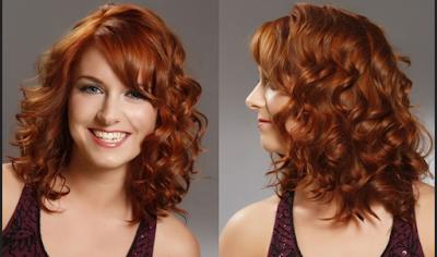 model rambut pendek keriting ala Copper Curls