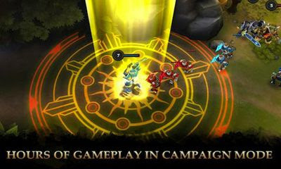 LEGENDARY HEROES MOBA (MOD, COINS/CRYSTALS)