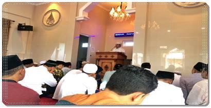 Kapolres Pasaman AKBP HASANUDDIN S.Ag Bertindak Sebagai Khatib Dan Imam Shalat Idul Fitri 1439 H