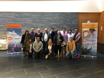 Reunión de inCruises en Andorra con Fran Codina