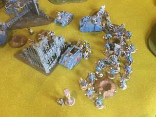 40k SW vs GSC First Curse ambush