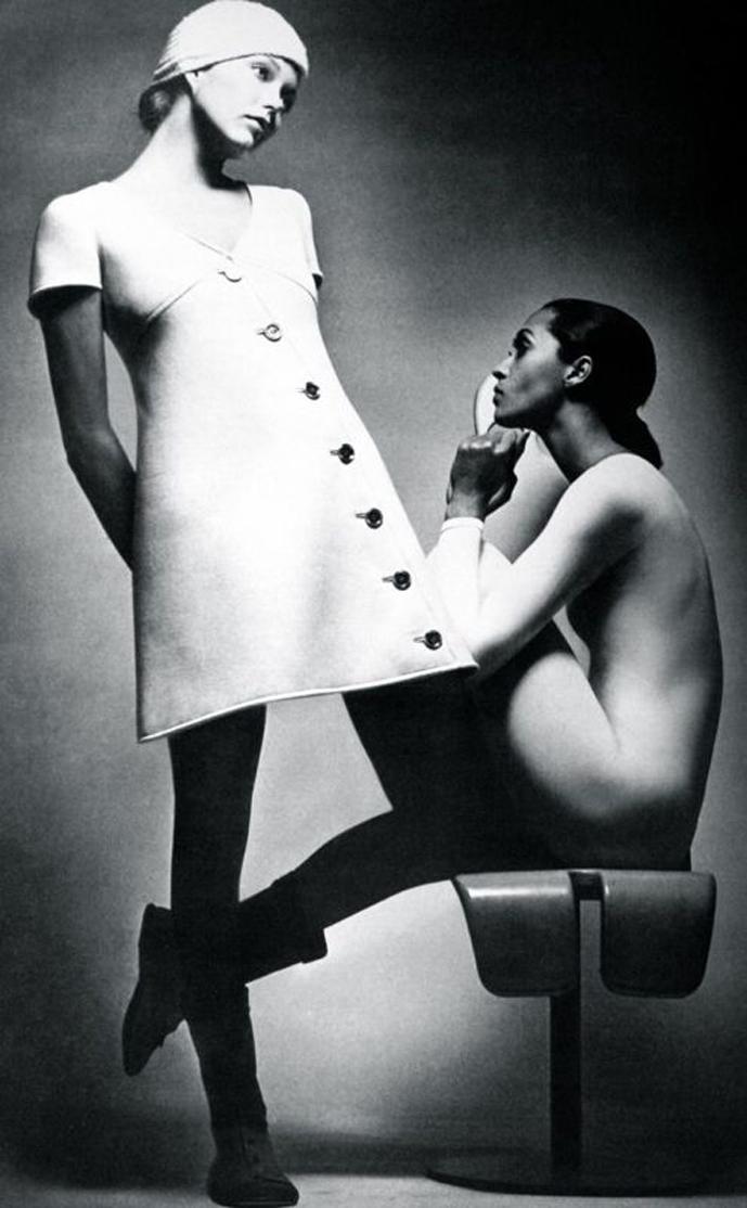 Yves Saint Laurent in Vogue Paris September 1969 via www.fashionedbylove.co.uk british fashion blog