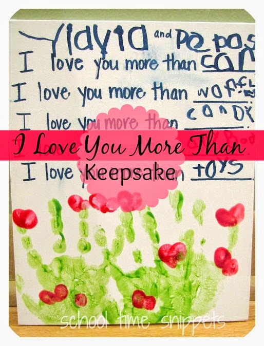 Valentines Day Writing Activity