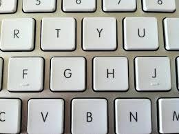 Fungsi dari tonjolan pada huruf F dan J