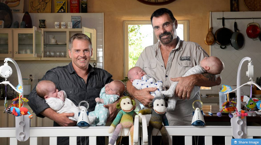 Commercial surrogacy for gay male couples