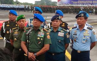 Panglima TNI bertekad bersihkan TNI dari narkoba Tidak mengenal pangkat. Kolonel pun kita sikat! - Commando