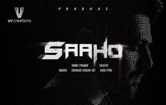 Prabhas next upcoming telugu movie Saaho first look, Poster of download first look Poster, release date 2017